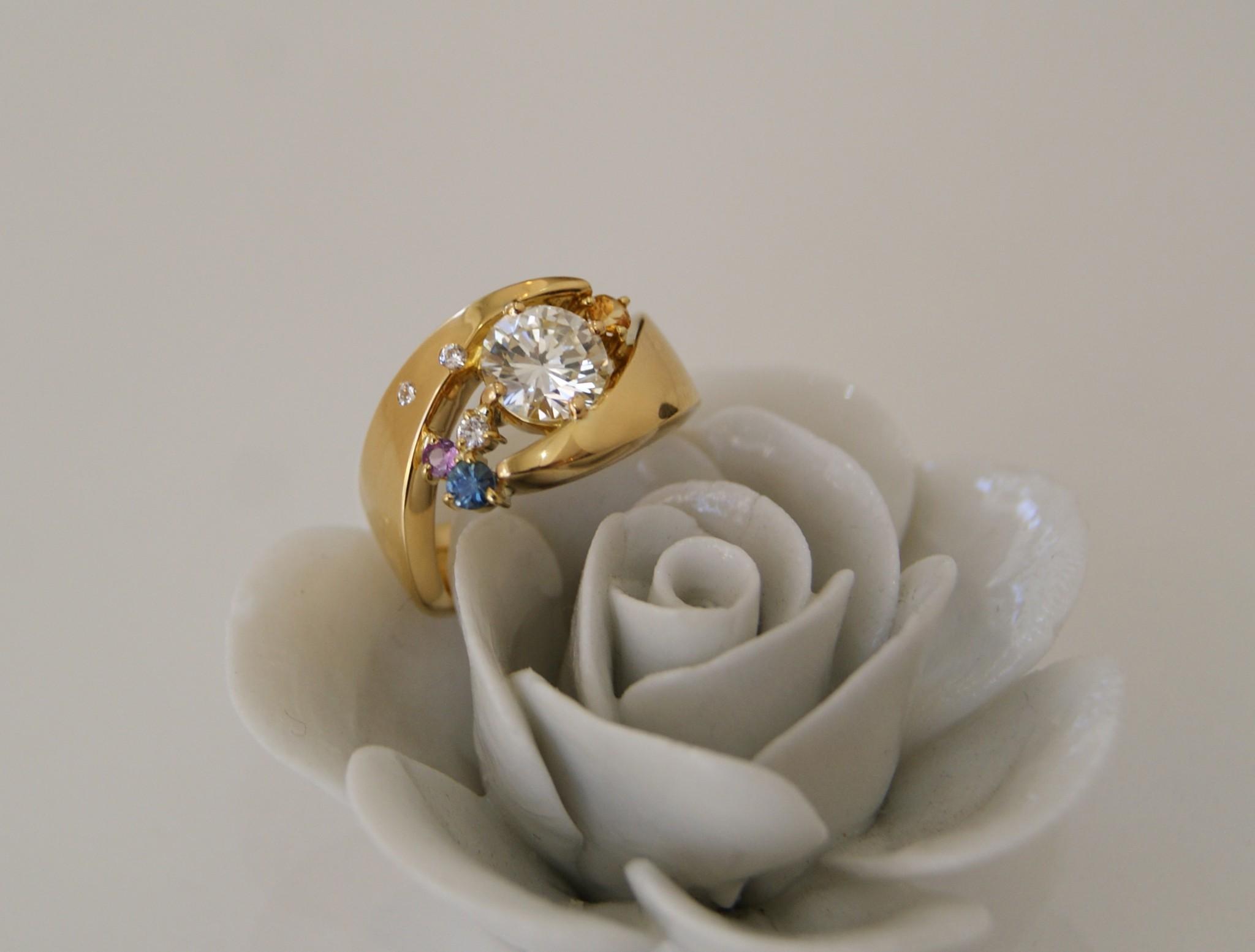 A ダイヤリング